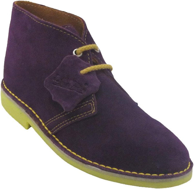 La Auténtica K100PC - Desert Boot Italian tip Combined, Unisex Adult, purple - Yellow