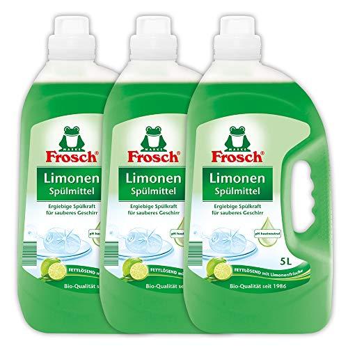 Frosch - Detergente para lavavajillas, 3 unidades (5 l)