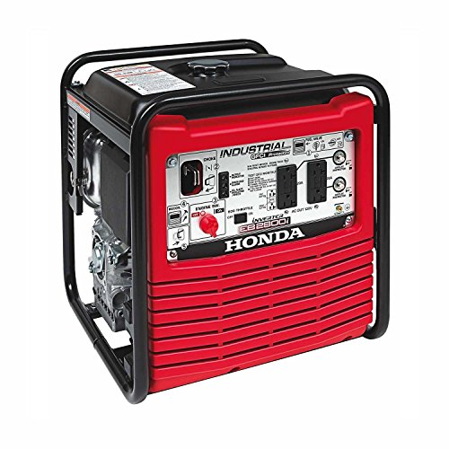 Honda Power Equipment EB2800IA Power Equipment, 2800W, 120V Inverter Portable Gas Generator, Steel generator HONDA inverter portable