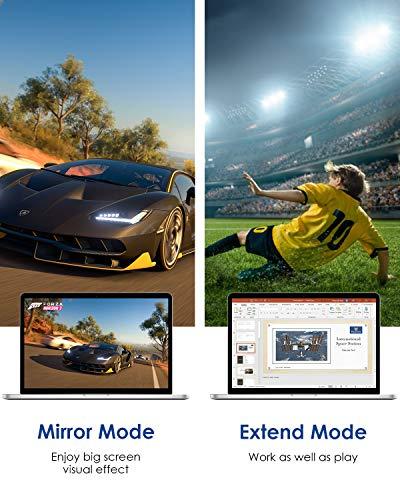 Mini DisplayPort to Displayport 2m (4K@60Hz, 2K@165Hz), Silkland Mini DP auf DP Kabel Kompatibel mit MacBook Air(Vor 2018)/Pro(Vor 2016), iMac(Vor 2017), Mac Pro (2010-2013), Surface Pro und mehr