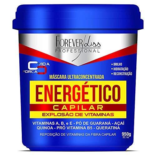 Forever Liss Professional Energetic Masque capillaire ultra concentré | brillance, hydratation et reconstruction 950 g