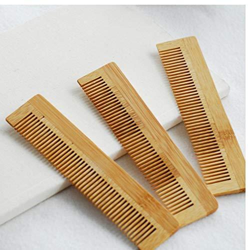PiniceCore 1pcs Massage Peigne en Bois de Bambou de Haute qualité Cheveux Vent Brosse Brosses Soins des Cheveux et Beauté Spa Massage en Gros Soins des Cheveux Peigne