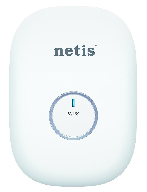 Netis E1+ 300Mbps Wireless N Range Extender, Travel Router, Wi-Fi Repeater, White (E1+ White)