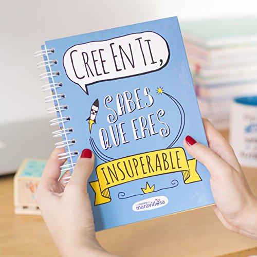 La Mente es Maravillosa - Cuaderno A5 (Cree en ti, sabes que eres insuperable) Regalo practico con dibujos graciosos (Diseño Cree en ti)