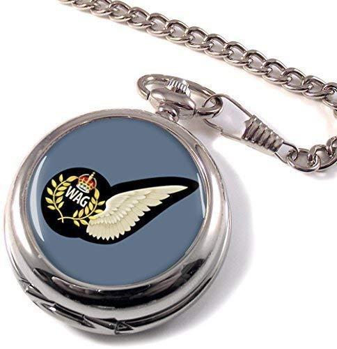 Royal Air Force inalámbrico operador aire Gunner (RAF) reloj de bolsillo