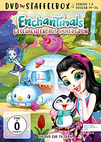 Enchantimals - Geschichten aus Immergrün - Staffelbox 1.2 - Die DVD zur TV-Serie (Folgen 14 - 26)