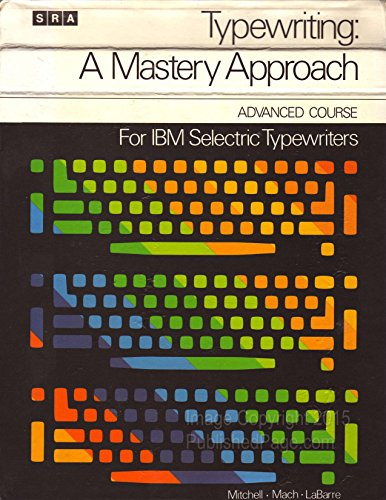 Typewriting, a mastery approach for IBM Selectric® for sale  Delivered anywhere in Canada