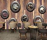 Auto nostalgiche pneumatici auto d'epoca TV sfondo wall-430 * 300