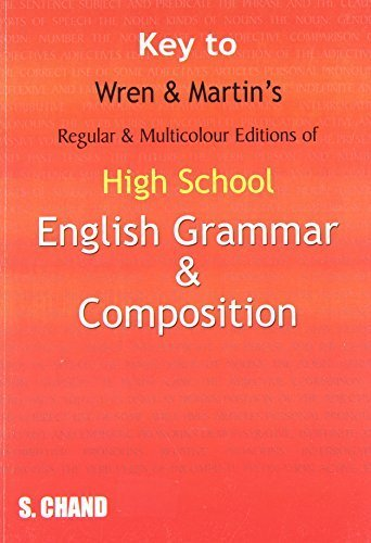 Key to High School English Grammar and Composition by Wren P.C. (2015-03-01)