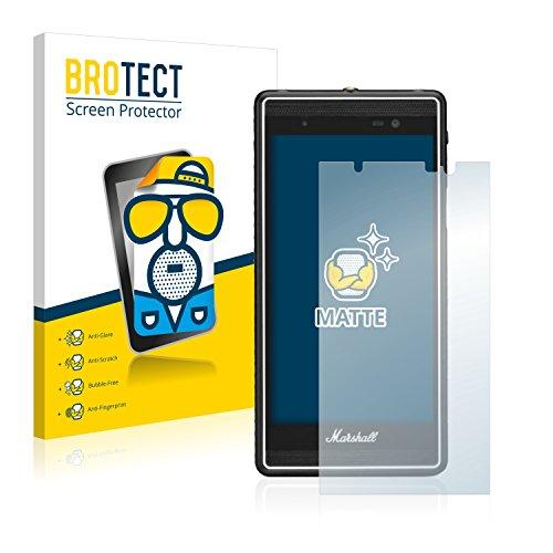 BROTECT 2X Entspiegelungs-Schutzfolie kompatibel mit Marshall London Bildschirmschutz-Folie Matt, Anti-Reflex, Anti-Fingerprint
