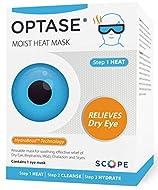 Optase Moist Heat Eye Mask - Washable and Reusable Heated Gel Eye Mask - HydroBead Technology for Dr...