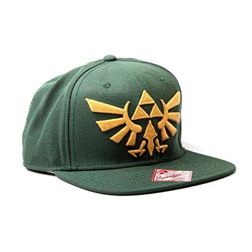 Legend of Zelda Golden Logo Nintendo Snapback Cap Bacecap lizenziert sehr hochwertig für Gamer