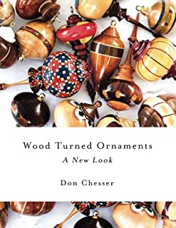 Wood  turned ornaments a new look