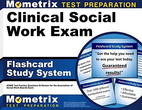 Clinical Social Work Exam Flashcard Study System: ASWB Test Practice Questions & Review for the Asso