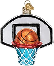 Old World Christmas Ornaments Basketball Hoop Glass Blown Ornaments for Christmas Tree