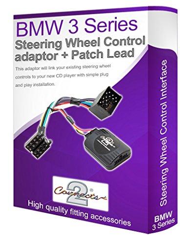 Connects2 - Controlador de autorradio para el volante, compatible con modelos de BMW E46 Serie 3