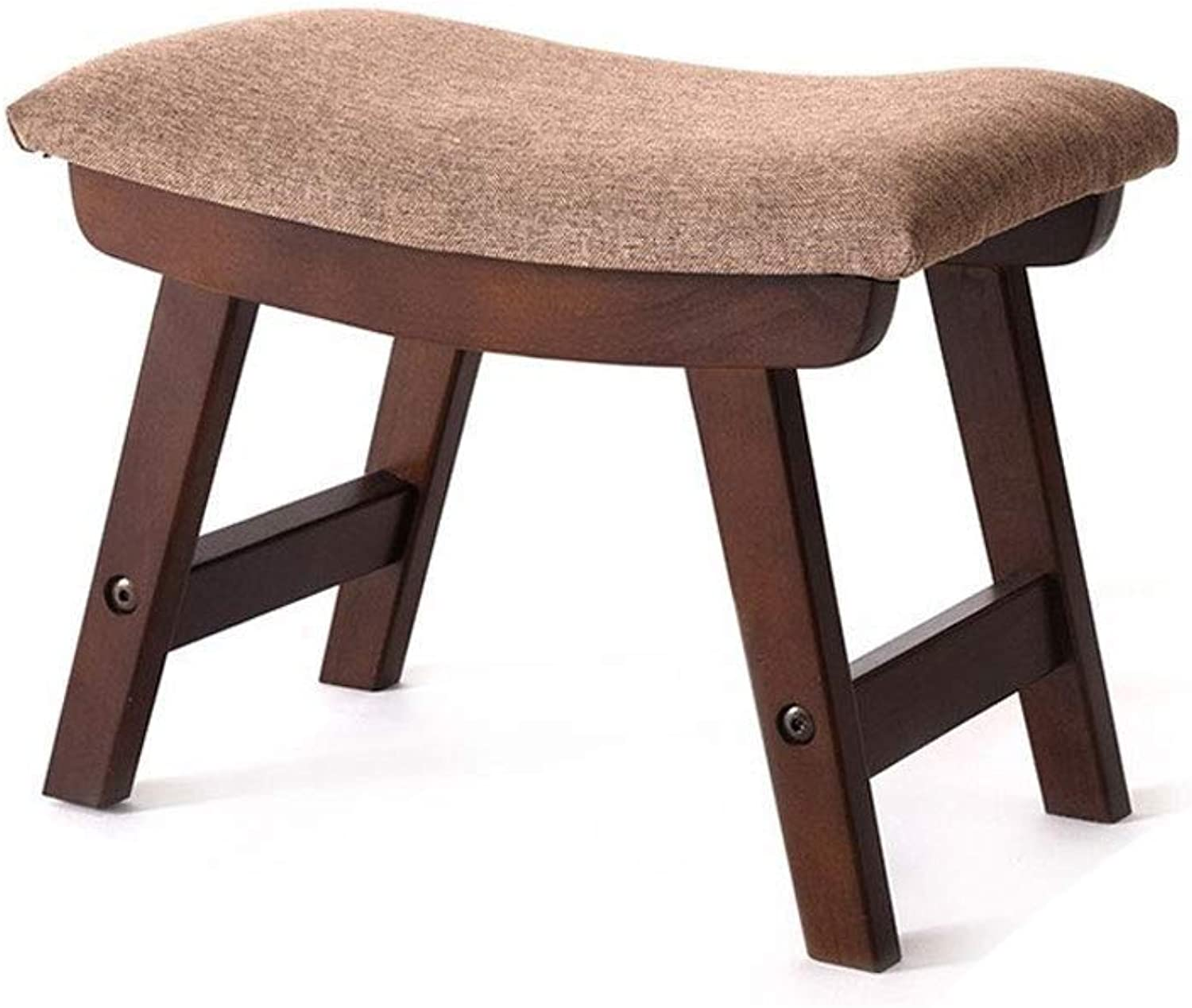 FS Footstool, Home shoes Bench, Solid Wood Stool, Small Stool 38×24×29cm (color   B)