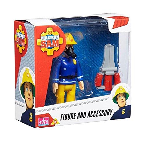 Feuerwehrmann Sam Figur & Zubehör - Sam mit Schere (Versand aus UK)