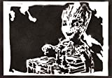 Baby Groot Poster Guardians of the Galaxy Plakat Handmade