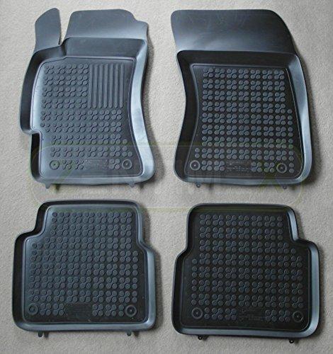 Gummi Fußmatten Gummimatten Auto passend für Subaru Justy 3 2003-2007 G3X vorn