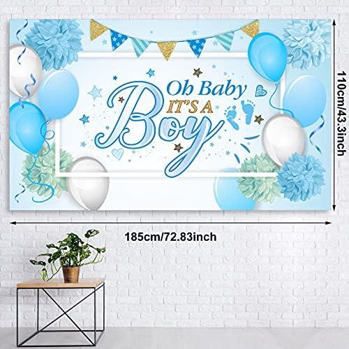 Adornos para baby shower nino _image0