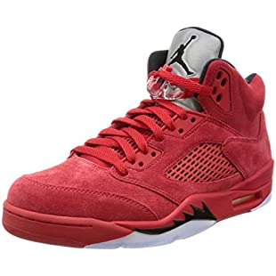 Nike Air Jordan 5 Retro 'Red Suede' - 136027-602 - Size 9 -:Kisaran