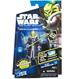 Star Wars 2011 Clone Wars Animated Action Figure CW No. 60 Kit Fisto Cold Weather Gear