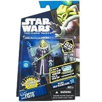 Hasbro スター・ウォーズ クローン・ウォーズ ベーシックフィギュア キット・フィスト/Star Wars 2011 The Clone Wars Action Figure CW60 Kit Fisto【並行輸入】