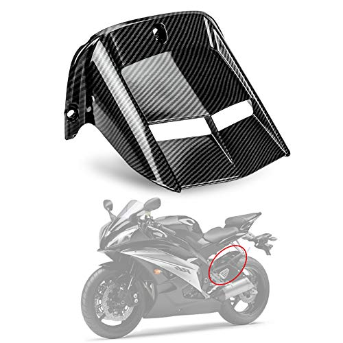 PSLER® Guardabarros, Protector Rueda Neumático Trasero Motocicleta para Yamaha YZF R6 600 2006-2016 (Carbón)