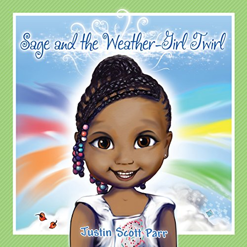 Sage and the Weather-Girl Twirl audiobook cover art