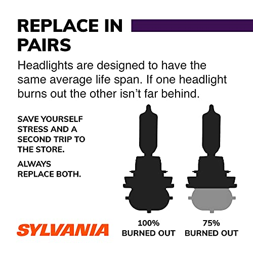 SYLVANIA H7 XtraVision Halogen Headlight Bulb