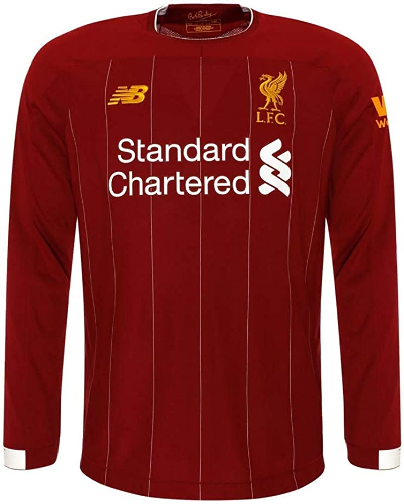 New Max 85% OFF Balance Kid's Liverpool Jersey Long FC Sleeve Low price