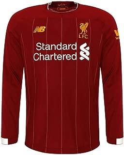 Liverpool FC Home Junior Long Sleeve Soccer Jersey 2019/20