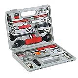XinYun Bike Repair Tool Kits, 44 Pcs Bicycle Tool Kit Multi-Function Tool Kit with Tool Box, Maintenance Tool Set for Mountain Road Bicycle Repairs