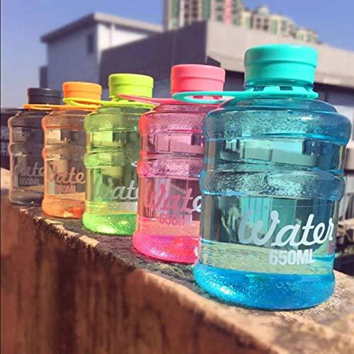 Copas De Champán, Tazas, Regalos Cubo De Agua Mineral Creativo Botella De Agua 650Ml Mini Taza De Agua Botellas De Agua Portátiles A Prueba De Fugas Lindas Botellas De Bebida