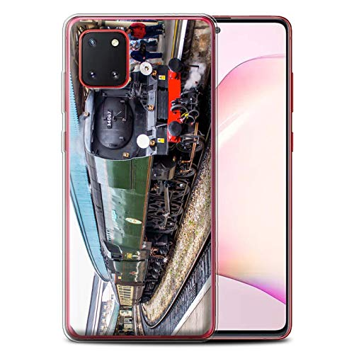 Stuff4 Gel TPU telefoonhoesje/hoes voor Samsung Galaxy Note 10 Lite 2020 / Tangmere/Platform Design/Steam Locomotive Collection