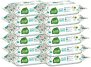 Seventh Generation Baby Wipes, 768 count, Made for Sensitive Skin with Flip Top Dispenser