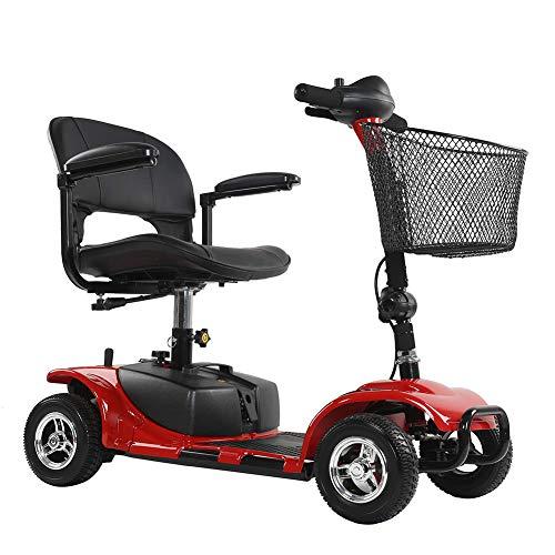 DJJY 4 Roues Scooter Électrique pour Handicapés Scooter Senior...