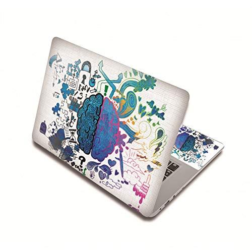 HUATULAI Piel del ordenador portátil 15.6 pulgadas Notebook Decal Covers 13 15 pulgadas 17 pulgadas etiqueta de la piel del ordenador portátil para MacBook Pro 15/Xiaomi Air 13.3/Lenovo/Asus
