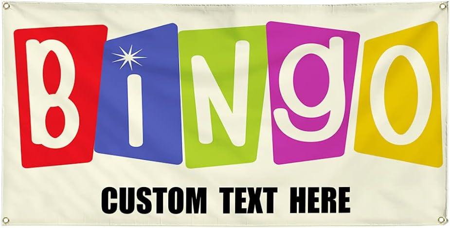 Super-cheap Custom Vinyl Banner Multiple Sizes Advertising #1 Max 46% OFF Outdoor Bingo