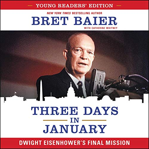 Three Days in January: Young Readers' Edition audiobook cover art
