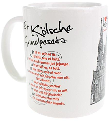 Köln Tasse (Kölsches Grundgesetz)
