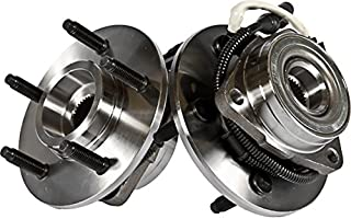 Callahan C515031X2 [2] Pair FRONT Premium Grade Wheel Hub Bearing Assemblies [ 5 {14mm} Lug 4WD 4-Wheel ABS ] [ 515031 ]