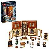 LEGO 76382 Harry Potter Momento Hogwarts: Clase de Transfiguración, Libro de Juguete Coleccionable, Set Portátil, Estuche de Viaje