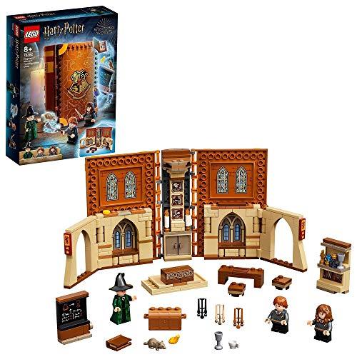 LEGO76382HarryPotterHogwartsMoment:VerwandlungsunterrichtSet,SpielzeugkoffermitMinifiguren,Sammlerstück