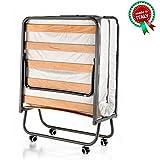 Goldflex - Brandina Pieghevole MOD. Emergency Bed a doghe in Legno Ortopedica...