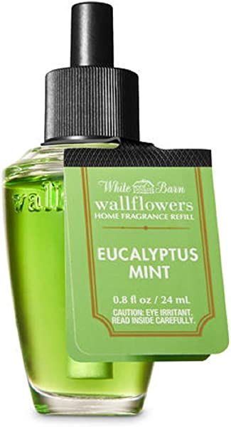 Bath Body Works Wallflowers Fragrance Refill Bulb Eucalyptus Mint Signature 2019