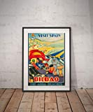Todghrt Bilbao Bilbao Reise Poster Bilbao Poster Bilbao