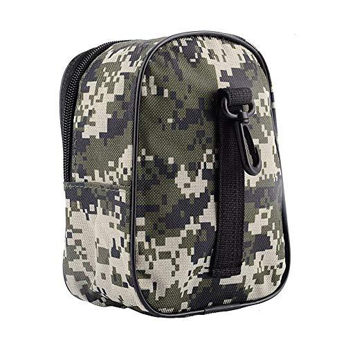 Fliyeong Outdoor Camouflage Angelrolle Gürteltasche Tragbare Angeltasche Aufbewahrungstasche Camouflage stilvoll und beliebt