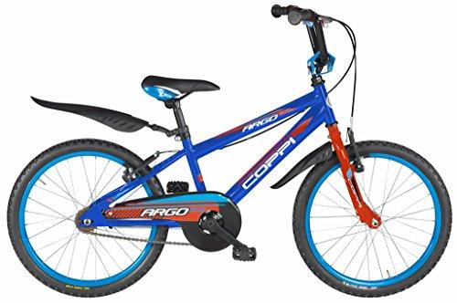 Coppi 20 Zoll Jungen Fahrrad Argo, Farbe:blau-orange